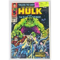 TALES TO ASTONISH # 101 LAST ISSUE BEFORE HULK #10