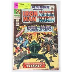 TALES OF SUSPENSE # 78 EARLY FURY