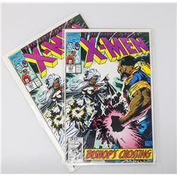 X-MEN # 283 TWO TIMES FULL BISHOP