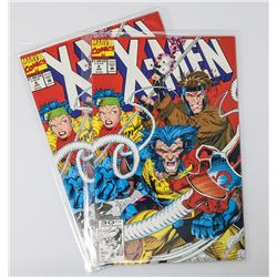 X-MEN 4 TWO SAME 1ST OMEGA RED COMICS