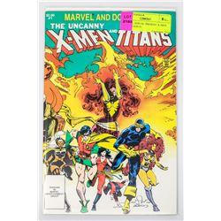 MARVEL AND DC PRESENT X-MEN NEW TITANS #1