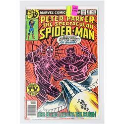 SPECTACULAR SPIDER-MAN # 27 1ST FRANK MILLER