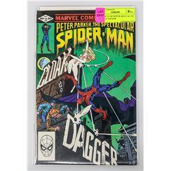 SPECTACULAR SPIDER-MAN # 64 1ST CLOAK & DAGGER