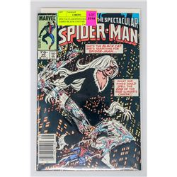 SPECTACULAR SPIDER-MAN # 90 CAMEO BLACK COSTUME