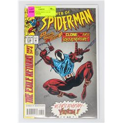 WEB OF SPIDER-MAN # 118 1ST SCARLET SPIDER