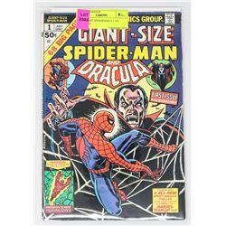 GIANT-SIZE SPIDERMAN # 1 VS DRACULA