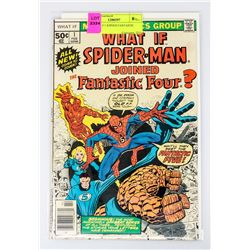 WHAT IF # 1 JOINED FANTASTIC FOUR?