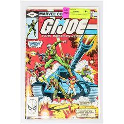 G.I. JOE # 1 FIVE 1ST APPERANCES