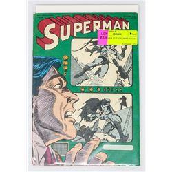 SUPERMAN # 27 ITALY 1969 VARIANT