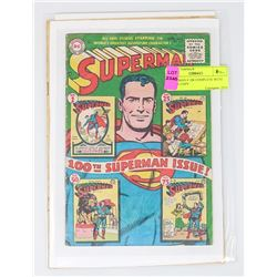 SUPERMAN # 100 COMPLETE WITH COVER COPY