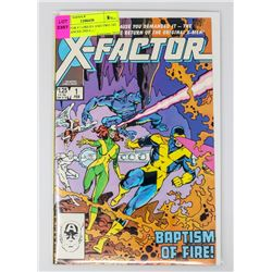 X-FACTOR # 1 ORIGIN AND TWO 1ST APPERANCES 2ND CAB