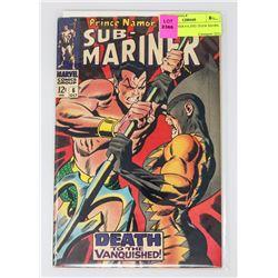 SUB MARINER # 6 2ND TIGER SHARK
