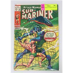 SUB MARINER # 10 ORIGIN SERPANT CROWN