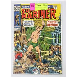 SUB MARINER # 25 ORIGIN ATLANTIS