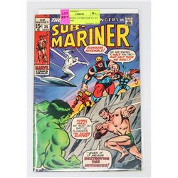 SUB MARINER # 35 PRELUDE TO 1ST DEFENDERS