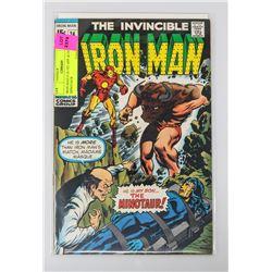IRON MAN # 24 1ST APPEARANCE & DEATH OF MINOTAUR