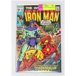 IRON MAN # 28 1ST HOWARD STARK