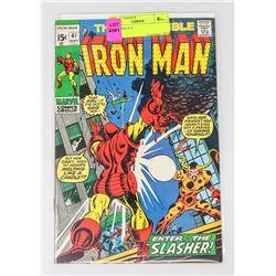 IRON MAN # 41