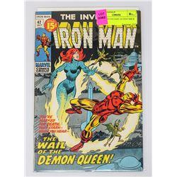 IRON MAN # 42 LAST 15 CENT ISSUE