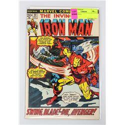 IRON MAN # 51