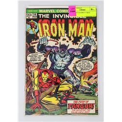 IRON MAN # 56 ORIGIN ISSUE