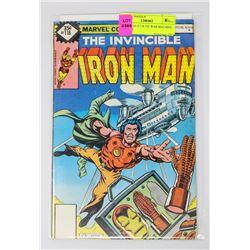 IRON MAN # 118 1ST WAR MACHINE RHODES