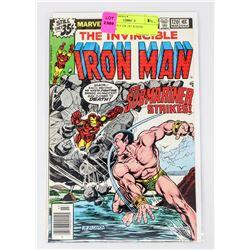 IRON MAN # 120 1ST JUSTIN HAMMER