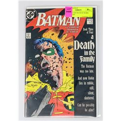 BATMAN # 428 DEATH OF ROBIN JASON TODD