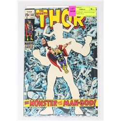 THOR # 169 ORIGIN GALACTUS PART 2 1ST CREEPING PLA