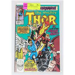 THOR # 412 1ST NEW WARRIORS