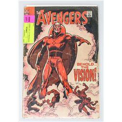 AVENGERS # 57 1ST VISION