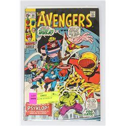 AVENGERS # 88 1ST PSYKLOP