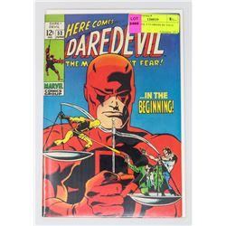 DAREDEVIL # 53 ORIGIN RE TOLD