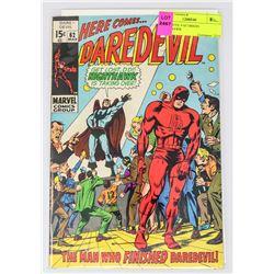 DAREDEVIL # 62 ORIGIN NIGHTHAWK