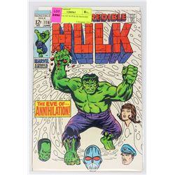 HULK # 116 1ST SUPER HUMANOID