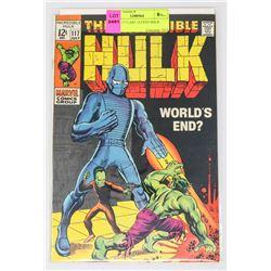 HULK # 117 LAST 12 CENT ISSUE