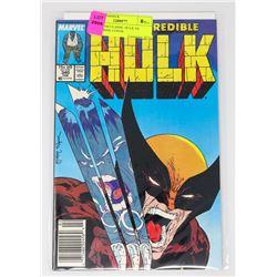 HULK # 340 CLASSIC HULK VS WOLVERINE COVER
