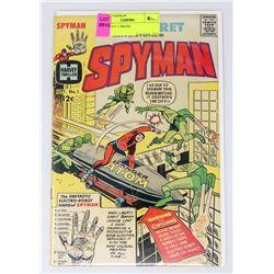 SPYMAN # 1 ORIGIN