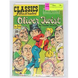 CLASSIC ILLUSTRATED # 23 OLIVER TWIST