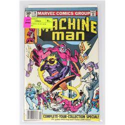 MACHINE MAN # 19 1ST JACK O'LANTERN