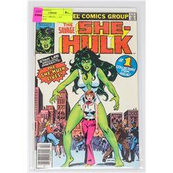 SHE HULK # 1 ORIGIN & 1ST APPERANCE