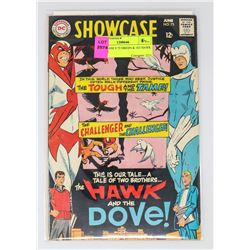 SHOWCASE # 75 ORIGIN & 1ST HAWK & DOVE