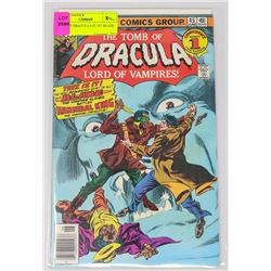 TOMB OF DRACULA #45 BLADE VS HANNIBAL KING