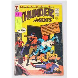 THUNDER AGENTS # 6 WOOD ART