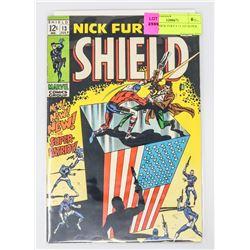 SHEILD NICK FURY # 13 1ST SUPER PATRIOT