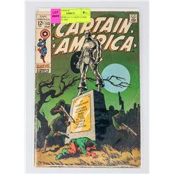 CAPT. AMERICA # 113 BEST COMIC COVER OF 1969