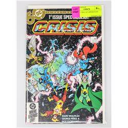 CRISIS # 1 TWO 1ST APPERANCES