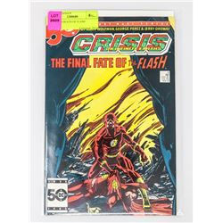 CRISIS # 8 DEATH OF FLASH
