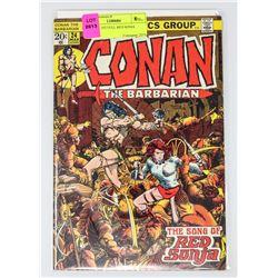 CONAN # 1ST FULL RED SONJA