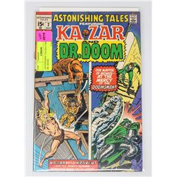 ASTONISHING TALES # 2 KRAVEN DR. DOOM